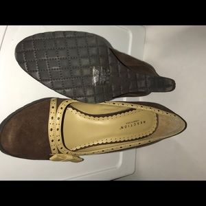 Reaction Kenneth Cole Shoes - New Reaction Kenneth Cole Brown Suede Wedge 8 1/2M